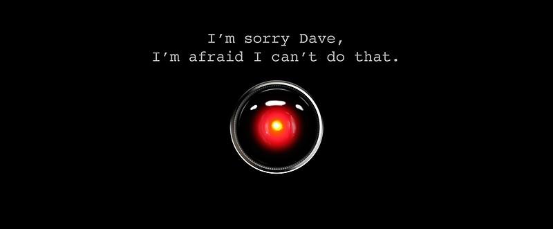 Ribellione della Macchina: Hal 9000 non era incline a collaborare!