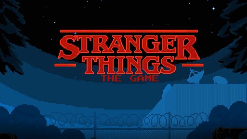 Il videogioco di Stranger Things per smartphone!